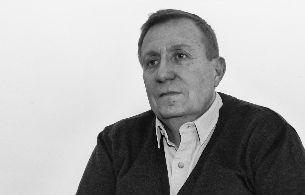 Vicente Ramón durante la entrevista. Autor: Tomás Guil.